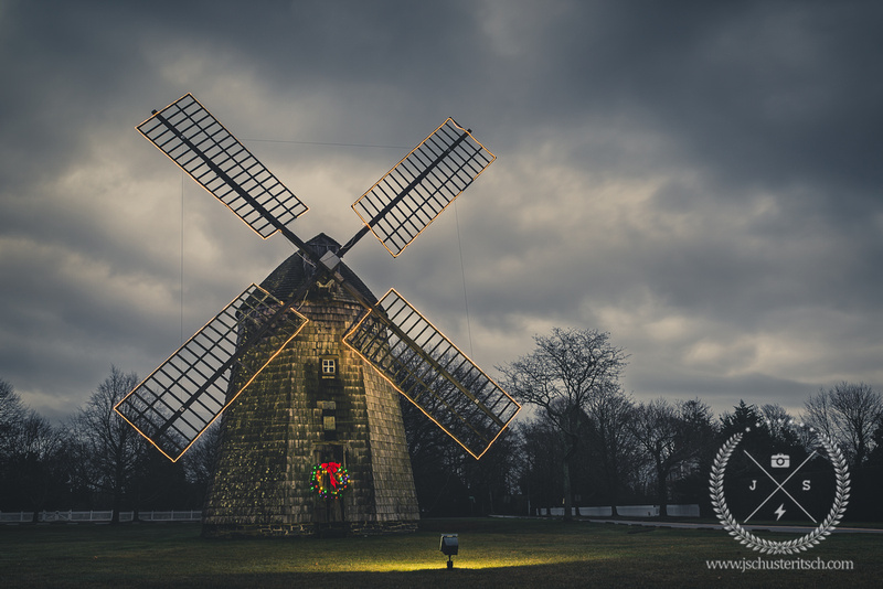Water Mill Windmill in December